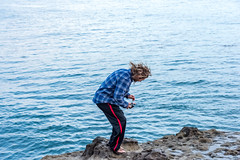 ArchitectGJA-9468.jpg (ArchitectGJA) Tags: lighthousepoint surfing californiababy wetsuit oneill jamessclar xcel lighthousefield california beach marineanimals coast cliffs streetphotography waves surfingsteamerlane santacruz steamerlane montereybay