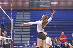 IMG_8334 (SJH Foto) Tags: girls volleyball high school york delone catholic team teen teenager jump spike burst mode