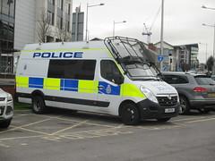 Transport Police vehicle. (aitch tee) Tags: cardiff policevehicles britishtransportpolice walesuk