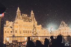 ГУМ winter (Syuqor7) Tags: зима winter moscow moscowcity russia гум москва nikon nikond7200 nikonphotography d7200 night snow snowfall light building like