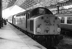 Photo of Class 40 Llandudno March 1977