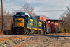 Up, Up, and Away (Wheelnrail) Tags: csx csxt dayton local y102 emd gp30 rdslug gp402 boxcar industry spur customer rail road railroad railway train trains
