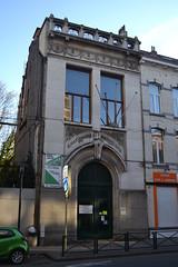 Gemeenteschool 13, Schaarbeek (Erf-goed.be) Tags: gemeenteschool school henrijacobs roodebeeklaan schaarbeek brussel archeonet geotagged geo:lon=43995 geo:lat=508475