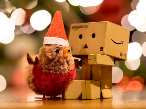 Christmas Chick and Danbo