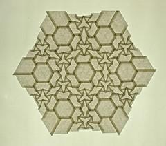 Magic Ring (Anillo mágico) (mganans) Tags: origami tessellation