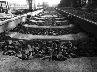 DSCI3449_hfi Eisenbahnschienen Perspektive...