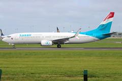 Luxair - Boeing 737-8C9 - LX-LBA (Andy2982) Tags: luxair boeing7378c9 lxlba cn435375293 takingoff dublinairport 28runway