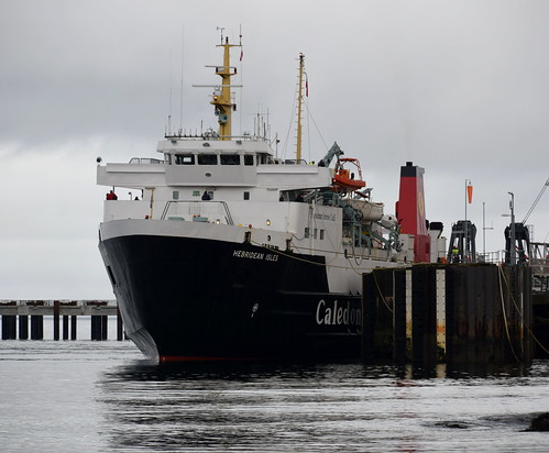 MV Hebridean Isles at Brodick Pier