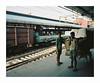 (iconicturn) Tags: delhi newdelhi india asia analog analogue mediumformat 120 6x7 film kodak portra mamiya7 mamiya trainstation train
