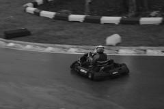 Drift over the corner! (iamWing_) Tags: acros bw bukc bukc2017 blackwhite britain buckmorepark england fuji fujifilm monochrome plymouth plymouthuniversity uk upmc unitedkingdom xpro2 xf56 championship karting race racing sport sports teammate track