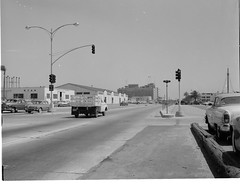 Atlas Collection Image (San Diego Air & Space Museum Archives) Tags: ryanaeronauticalcompany ford truck flatbed sandiego embarcadero harbordrive downtown 1961 streetview