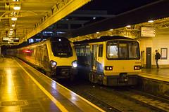 Rainy night at Cardiff Central (Dai Lygad) Tags: amateurphotography photos photographs images pictures jeremysegrott dailygad caerdydd wales cymru photography transport flickr caerdyddcanolog britain