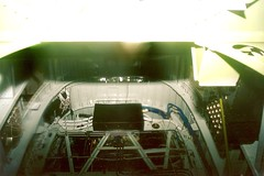 2002_8_AI_looking in through bomb-aimers;s window LoneStar_Galveston PB4Y-2 1 (wbaiv) Tags: consolidated pb4y2 patrol bomber 2nd version single find rudder optimized low altitude endurance united states navy world war ii two 4 piston engine propeller driven daviswing heavily armed waist nose tail top gunturret 50 calibre machine guns pairs lsfm lone star flight museum galveston texas maintenance preservation historic representative aircraft
