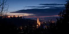 blue hour Ravensburg (ingoal18) Tags: blue hour blaue stunde mehlsack ravesnburg schwaben oberschwaben nikkor nikon d7100 18140mm golden orange silhouette longexposure langzeitbelichtung