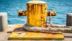 From the Docks of Bayonne - 7 (RGL_Photography) Tags: us newjersey rust unitedstates rusty bayonne rustyandcrusty rustporn mooringbollards nikonafsnikkor28300mmf3556gedvr nikond610 rustynewjersey