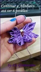 20150813_172236 (Artesanato com amor by Lu Guimaraes) Tags: de flor fuxico cortinas reciclagem tecido prendedor
