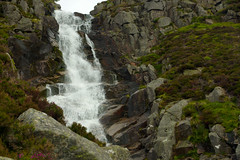 Lunch Spot (steve_whitmarsh) Tags: water scotland waterfall rocks aberdeenshire cairngorms