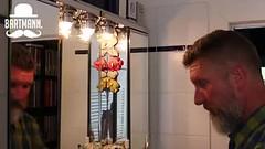 Der Bartmann, Frhsommer 2015 (Thomas Lautenschlag) Tags: portrait selfportrait berlin male me germany beard bathroom deutschland photography goatee bath fotografie photographie autoportrait bart portrt bain autoritratto autorretrato allemagne selbstportrait banheiro bigbeard barbe aseo barbu selfie badezimmer autoportret selbstportrt azienka cuartodebao selbstauslser elbao bartmann showerroom salledebains badezimmerspiegel fullbeard salledeau vollbart   quartodebanho stanzadabagno barbouze epicbeard thomaslautenschlag  metalkris derbartmann