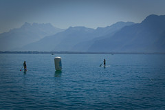 Ride 4 the Cause 01 (zules_ch) Tags: lake switzerland suisse paddle lac lman montreux clarens nikon1j5 ride4thecause2015