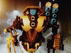 Gizmo Preview. (Wafna-204) Tags: robot lego mecha mech moc legophotography
