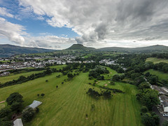 Aerial View of Cushendall (Fossie1) Tags: uk ireland view vision v3 plus phantom northern aeriel cushendall dji quadcopter