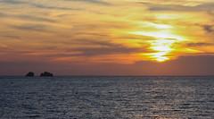 Portes, Paros island - Cyclades Greece (kostaschrstdls) Tags: ocean sunset sea sky ferry clouds canon photography waves ship colours sundown aegean greece shipwreck grecia greekislands paros cyclades portes meditteranean aegeansea