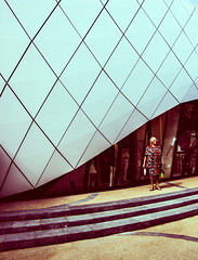 URBAN FASHION | Monte Carlo (Aleksandar Kumanov Street & Portraits) Tags: street old woman france lines fashion architecture candid minimal minimalism minimalistic