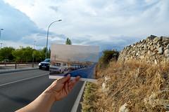 Memorias del paisaje III. Carretera a Madrid (belen.milpalabras) Tags: paisaje historia colmenarviejo