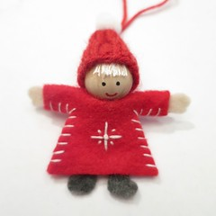 Advent Calendar Project '15 - Week 17 (katbaro) Tags: christmas project knitting advent calendar embroidery sewing crafts swedish elf christmasornament tutorial tomte