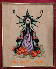 Luna (sticksuse) Tags: halloween crossstitch luna mirabilia sticken kreuzstich noracorbett