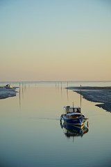Calme (corentingx) Tags: sunset bateau bassindarcachon andernos a6000