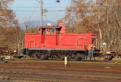 DB 363 193 Basel Badischer Bahnhof (daveymills31294) Tags: diesel bahnhof db basel class deutsche 193 bundesbahn 363 rangierlok badischer