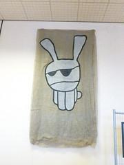 Dark Arts (rubber rat productions) Tags: england bunny yorkshire banner whitby hanging northyorkshire darkarts bramstokerinternationalfilmfestival