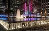 Radio City (PA161906) (Michael.Lee.Pics.NYC) Tags: newyork fountain night cityscape rockefellercenter olympus radiocity mkii 1251 markii avenueoftheamericas em5 exxonbuilding panasonicleica15mm17