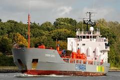 Yara Gas I (Bernhard Fuchs) Tags: water boat nikon ship ships vessel cargo tanker schiffe nok yara sehestedt gastanker tankschiff gastankschiff fluessiggastanker fluessiggas