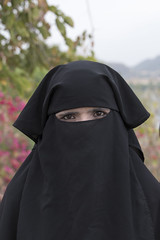 India/Mar.2015 (e.markun) Tags: portrait people woman india gente retrato mulher niqab islamicveil vuislmico