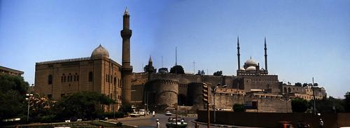 """Ägypten 1983 (15+16) Kairo: Mahmoudiya Moschee und Zitadelle von Saladin • <a style=""""font-size:0.8em;"""" href=""""http://www.flickr.com/photos/69570948@N04/23003911545/"""" target=""""_blank"""">View on Flickr</a>"""