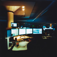 Dispatch life (busyclickn) Tags: 120 film work mediumformat 911 pinhole zeroimage zero69 dispatcher filmisnotdead kodakektar