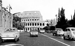 Looking back  - 1966 (Alan Denney) Tags: italy rome colosseum