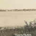 NW Traverse Greilickville Elmwood MI 1920s RPPC M-22 View looking SE to TC across West Grand Traverse Bay before Park Place Tower Photographer possible HERBERT-