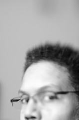 365x4.325: skewed vision (malik ml williams) Tags: selfportrait lensbaby availablelight fluorescentlight 365days 365x4