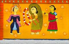 Celebration of Bangla New Year! (ashik mahmud 1847) Tags: art wall painting celebration bangladesh noboborsho d5100