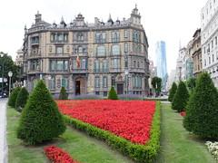 Plaza de Don Feræderico Moyua, Bilbao!