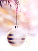 Christmas waves a magic wand over this world, and behold, everything is softer and more beautiful. (mintukka) Tags: winter christmas christmasballs pastel soft pretty snow december xmas fairytale stars
