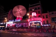 Moulin Rouge (Jim Nix / Nomadic Pursuits) Tags: jimnix nomadicpursuits travel europe france paris moulinrouge neon neonlights landmark famous cancan dancers luminar macphun sonya7ii sony 2470mm montmartre