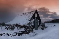 Árbæjarsafn (Museum) (Anna.Andres) Tags: árbæjarsafn annaguðmundsdóttir canoneos70d museum safn reykjavík iceland ísland outdoor oldhouse sunset