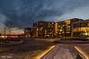 Blue hour (Rene Mensen) Tags: blue hour emmen thenetherlands drenthe square centrum centre light nikon night d5100 rene mensen city cityscape