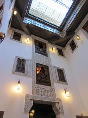 Atrium, Riad La Maison Verte, Fez, Morocco (Paul McClure DC) Tags: fez morocco fès almaghrib dec2016 medina feselbali maroc historic architecture