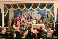 56. Sketch of Bogorodichnoe Village at the Assembly Hall / Сценка с.Богородичное в актовом зале 08.01.2017