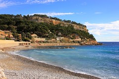 La Plage du Rouet (Bernard Bost) Tags: 2017 canon france paca provence bouchesdurhône carrylerouet plage beach galet pebble